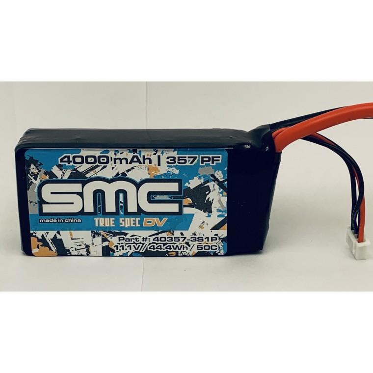 True Spec DV 11.1V 4000mAh 50C shorty softcase