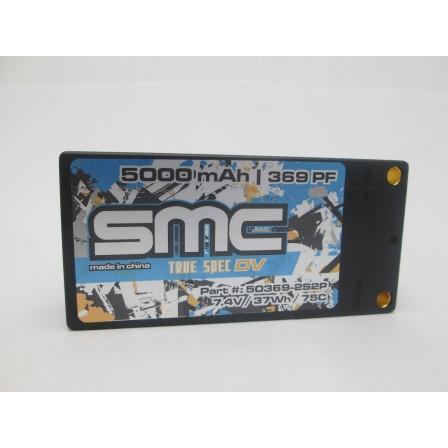 True Spec DV 7.4V 5000mAh 75C shorty inboard 5mm hardcase