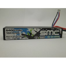True Spec Premium 7.4V 5400mAh 104Amps/50C  wired