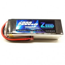 Zeee Power 6000mAh-22.2V-30C