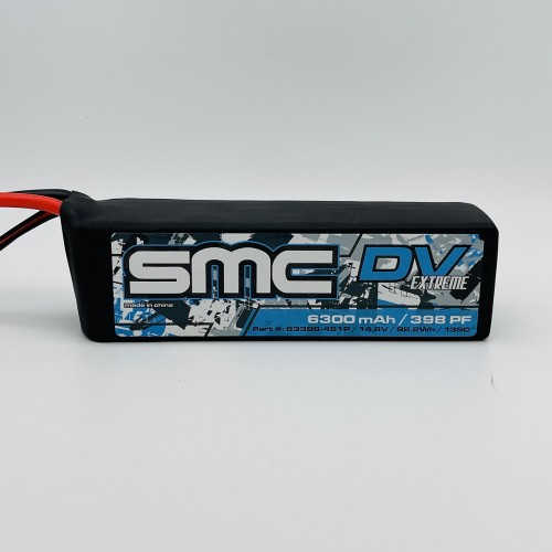 True Spec DV Extreme 14.8V 6300mAh 135C  G10 Protection Plates