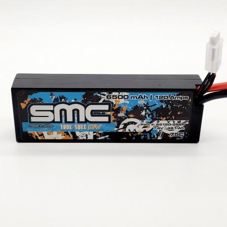 True Spec DV 7.4V 6500mAh 120Amps/75C  wired hardcase
