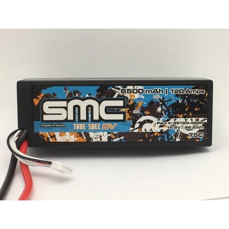 True Spec DV 14.8V 6500mAh 120Amps/75C  wired hardcase