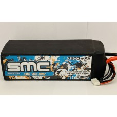 True Spec DV 22.2V 7200mAh 75C with G10 plates