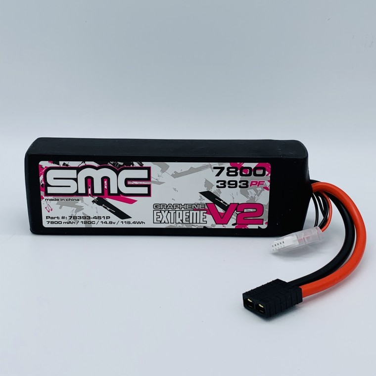 True Spec Extreme Graphene V2 14.8V 7800mAh 120C with G10 plates